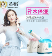 Gold rice KD2331-7 cold spray water supplement instrument face humidifier steam machine facial moisturizer