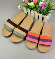 Home linen slippers couple sandals