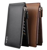 Baellerry Leisure Card Long Wallet cross pattern multi-functional ultra-thin bank card bag wholesale
