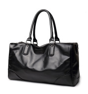 2021 new men's Korean plate travel bag business leisure cowhide male bag with large capacity and one shoulder