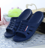 Home slippers, male and female summer Korean version of home bathroom lovers soft antiskid indoor Hotel plastic wholesale