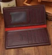 Niqi long wallet wallet Zichao new business casual men's wallet