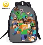 Cartoonbag 2021 new pupil animation reduction children's shoulder bag 16 inch boy backpack wholesale