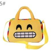10 lovely children look round look Plush Doll portable bag shoulder bag for children in kindergarten