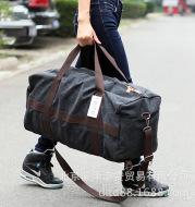 Large capacity sports leisure bag travel bag men's short trip LUGGAGE BAG canvas bag boarding bag