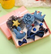 Children are lovely Princess Girls Gift Girl Baby small hairpin headdress jewelry set