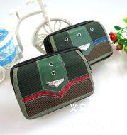 New men's handbag with double zipper Canvas Handbag