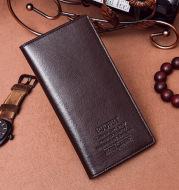 Manufacturers selling Korean men's wallet business slim long wallet card clip Taobao retro multi explosion models