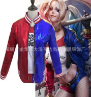Suicide team Haley Quine suicide squad small ugly female cos clothing Cosplay spot wholesale