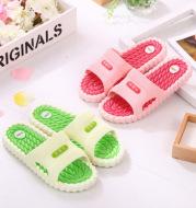 Non-slip massage PVC plastic slippers