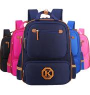 Children's schoolbags, schoolchildren, boys and girls, 1-3-4-6 grade English wind reducing children's backpacker