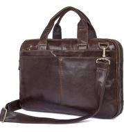 J.M.D men's fashion leather handbag oil wax business bag imported leather bag 7092-2