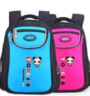 Schoolbag pupil 1-3-6 grade manufacturer custom-made male and female new children's shoulder cartoon knapsack 6-12 years old