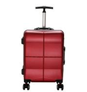 Aluminum frame rod box Cardan carton travel box bag female hard shell alloy cipher box for men's suitcase