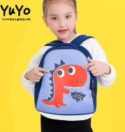 Male and female children's schoolbag kindergarten 1-3 year old backpack diving material new cartoon baby package custom logo