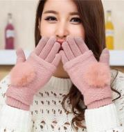 Hair ball finger refers to multi-function touch screen gloves