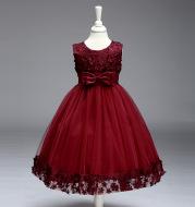 2020 summer skirt Kids Girls palace Princess Tutu flower children wedding dress wholesale show skirt