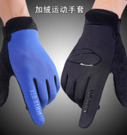 067 new type of riding gloves wholesale winter men's outdoor sports warm gloves fitness touch gloves