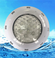 LED swimming pool lamp 6w9w12W15W18W24W hanging wall type underwater lamp RGB seven color swimming pool lamp water lamp