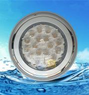 LED swimming pool lamp RGB seven color underwater lamp 6W 9W 12W 15W 18W 24W hanging wall type underwater lamp