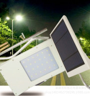 Led new solar integrated street lamps induction yard wall lamp light control outdoor tent light waterproof light