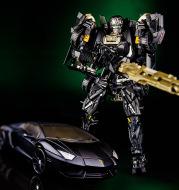 Cool change treasure KBB version of Diablo 5 Lamborghini diamond deformation confinement toy robot toy