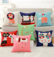 A generation of wholesale digital printing pillow pillow sofa sanding sofa cushion cover Home Furnishing supply manufacturers