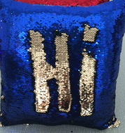 Pillow pillow factory direct sequins color Mermaid pillow case Amazon aliexpress selling DIY