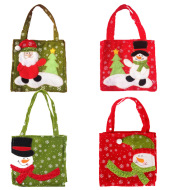 Christmas ornaments Christmas gift bag candy bag decoration manufacturer wholesale supply