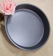 (9 inch) deep / shallow pizza disc nine inch round non stick stick carbon steel baking pan die