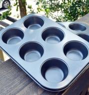 Roasting tool round 6 maffen cake baking tray without maffen cake mold Cupcake mold