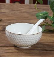 Golf bowl, bowl, ceramic, salad, bowl, dish, porcelain, porcelain, water cube kitchens
