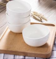 Chaozhou ceramic bowl wholesale Korean bowl Steamed Rice single bowl porcelain bowl kitchen tableware wholesale custom LOGO