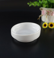 Domestic ceramic dishes salted food flavoring dipped in saucer dish kitchen tableware custom-made Chaozhou factory direct selling