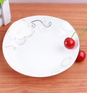6.5 inch ceramic dish, ceramic plate, ceramic plate, dish, dish, dining room, dining room, kitchen, dish, dish, dish, plate and hot water