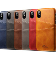 Wallet Phone Case, Slim PU Leather Back Case Cover With Credit Card Holder