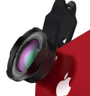 Mobile phone lens wide-angle lens combo macro 4K HD without distortion of professional 16MM