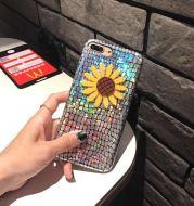 Summer smalliphone6s anti wrestling mobile phone shell strawberry fashion7plus silicone pendant shell