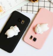 Three-dimensional cat Samsung mobile phone case