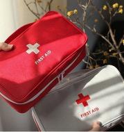 Travel storage first aid kit Family car gift portable medicine bag Home finishing lifesaving bag