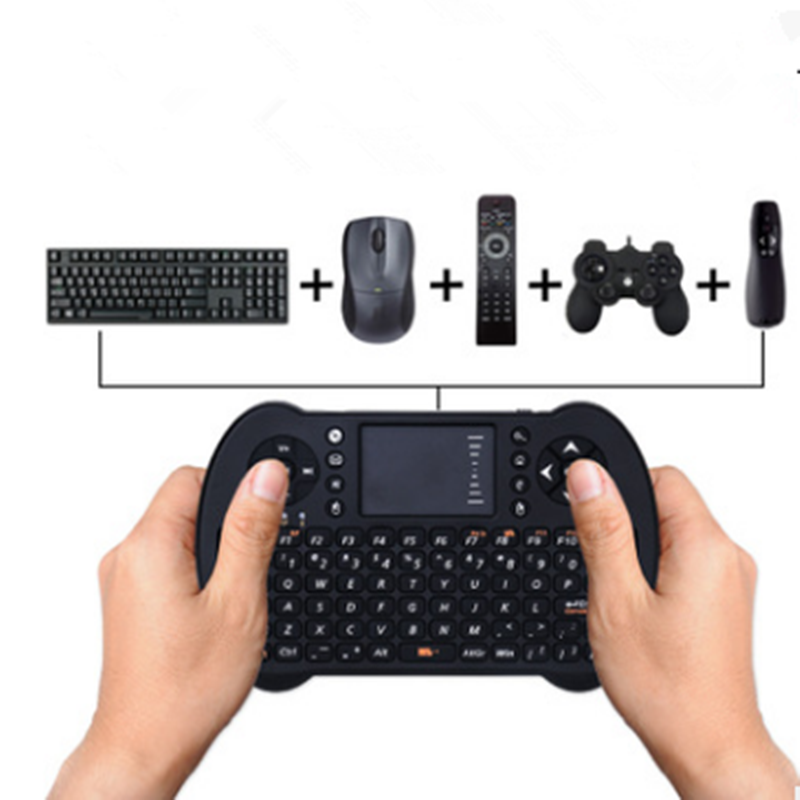 Bluetooth Wireless Keyboard With Touchpad and Mouse For iPhone iPad MacBook Samsung iOS Android Back-light