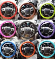 Non-slip car silicone steering wheel cover GM silicone steering wheel handle set Steering wheel silicone cover
