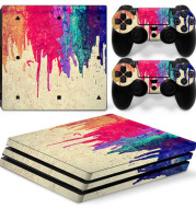 Manufacturer wholesale PS4 Pro sticker PS4 Pro sticker PS4 Pro game machine sticker PS4 PRO
