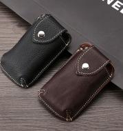 Car key bag with belt waist keychain