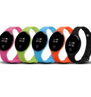 H8 intelligent SPORTS BRACELET touch screen smart Bracelet sports pedometer step counter SPORTS BRACELET monitoring reminder