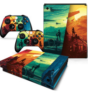 Game console colorful stickers