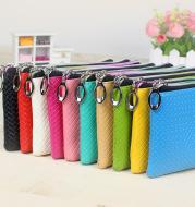 Women's creative zero purse 10 yuan store Pu zipper pocket pocket candy color Mini coin bag handbag