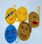 South Korean fabric zero wallet cartoon cartoon zero wallet coin purse purse plush toy manufacturers spot wholesale