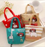 The new cute girl small bag bag bag zipper wallet key creative
