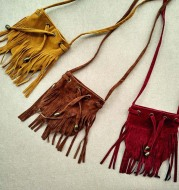 Direct selling fashion children bag with pure color tassel bag slant bag zero Purse